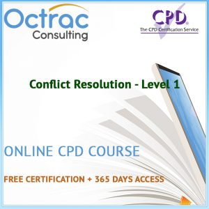 Conflict Resolution - Level 1 - Online CPD Course