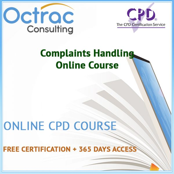 Complaints Handling Training | Online CPD Course