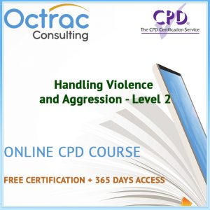Handling Violence and Aggression - Level 2 - Online CPD Course