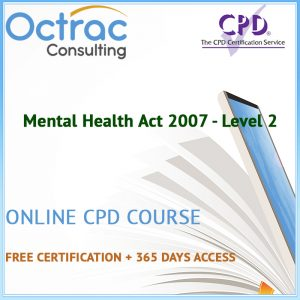 Mental Health Act 2007 - Level 2 - Online CPD Course