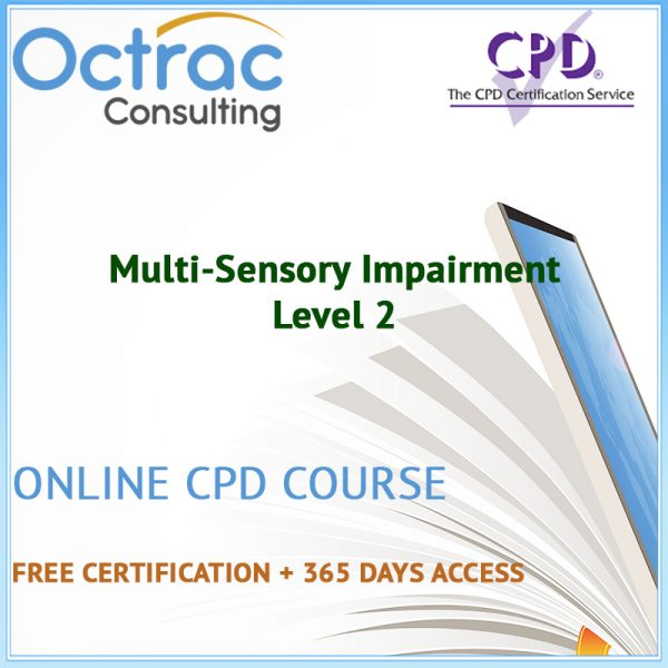 Multi-Sensory Impairment - Level 2 - Online CPD Course