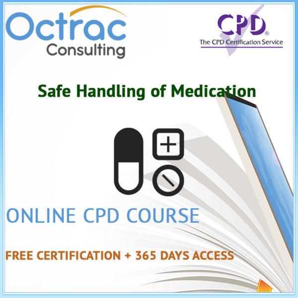 Safe Handling of Medication Training Level 2 | Online CPD Course