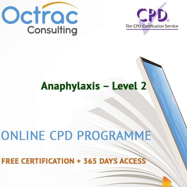 Anaphylaxis - Level 2 - Online CPD Course