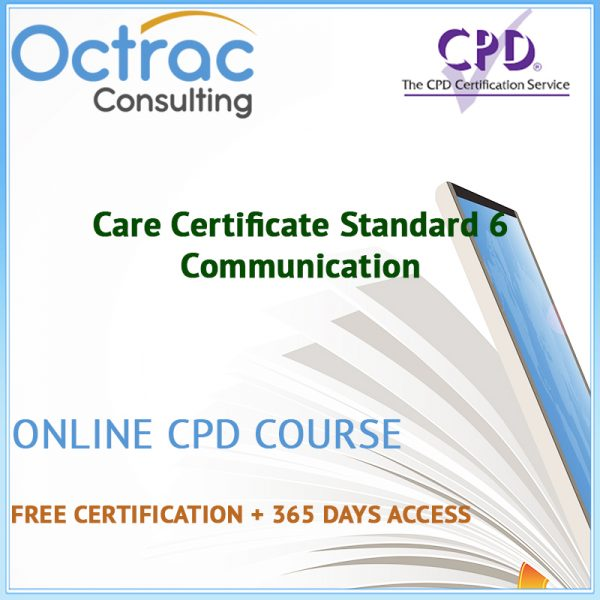 Care Certificate Standard 6 | Communication