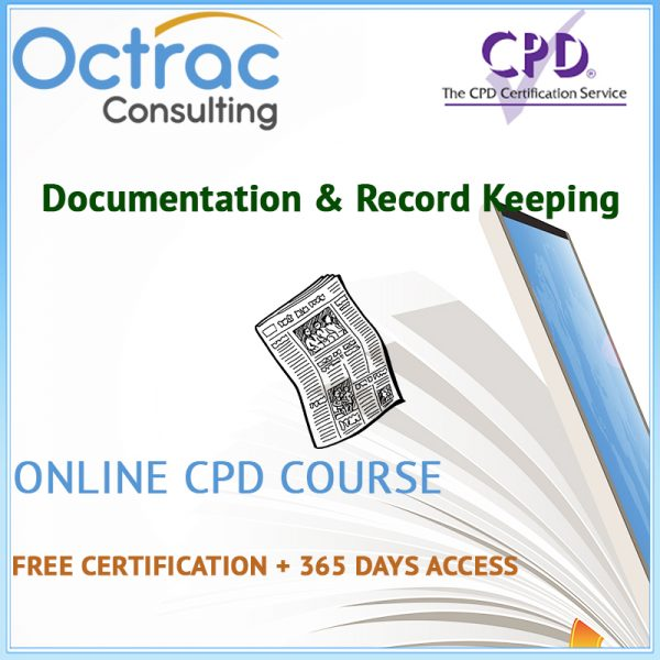 Documentation & Record Keeping Training | Online CPD Course