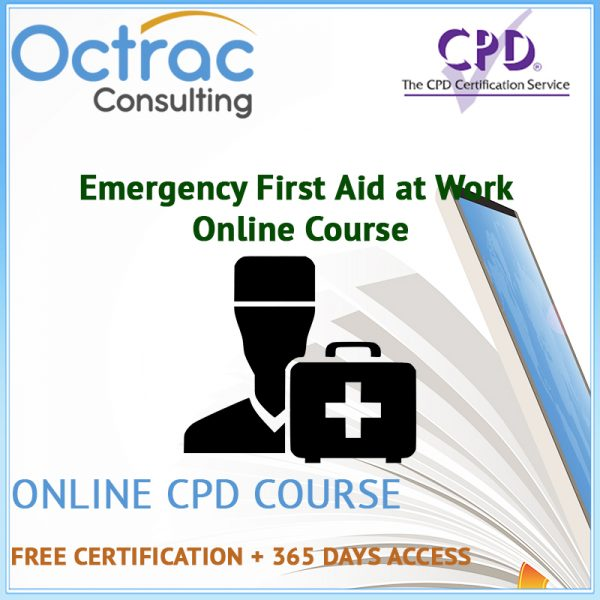 Emergency First Aid at Work Online Course