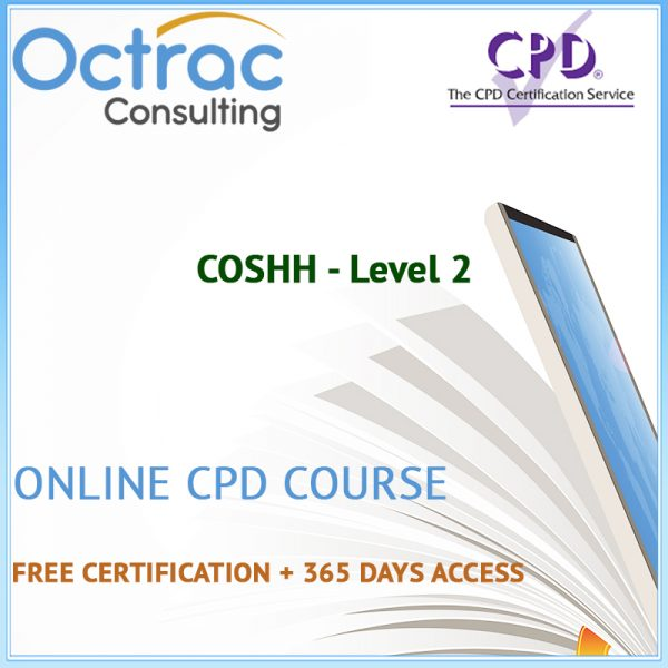 COSHH - Level 2 - Online CPD Course
