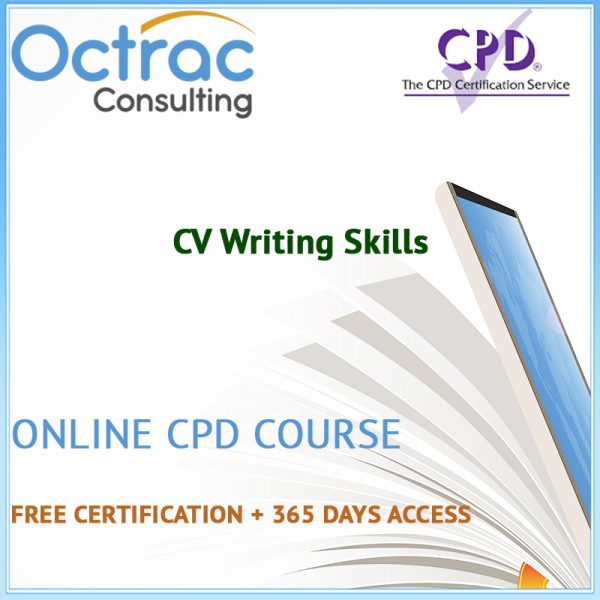 CV Writing Skills - Online CPD Course