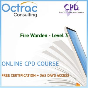 Fire Warden - Level 3 - Online CPD Course