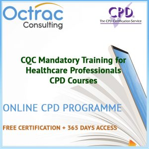 CQC Mandatory Training for Healthcare Professionals - Online CPD Courses