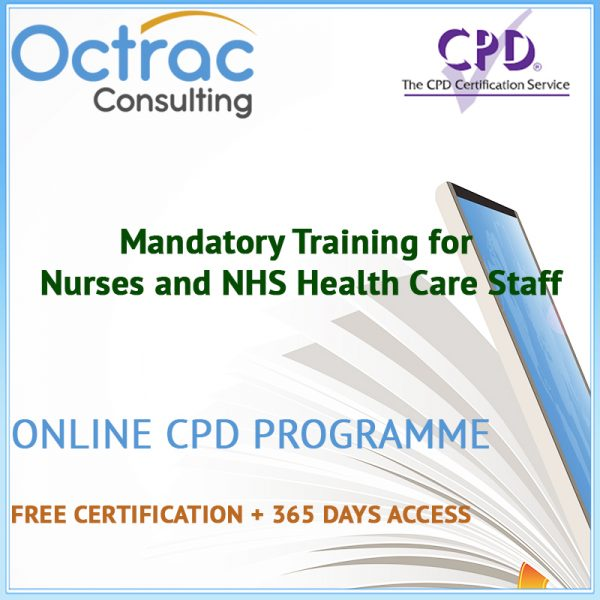 Mandatory Training Courses for Nurses and NHS Health Care Staff - Online CPD Courses