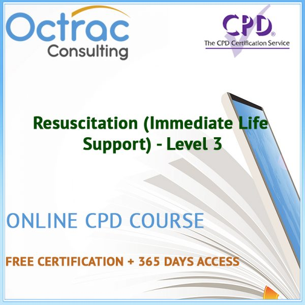 Resuscitation (Immediate Life Support) - Level 3 - Online CPD Course
