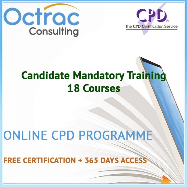 Candidate Mandatory Training - 18 CPD Courses