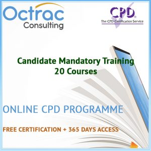 Candidate Mandatory Training - 20 CPD Courses