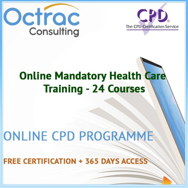 Online Mandatory Health Care Training - 24 CPD Courses