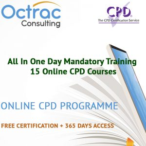 All In One Day Mandatory Training – 15 Online CPD Courses