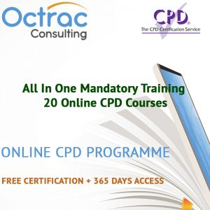 All in One Mandatory Training - 20 Online CPD Courses