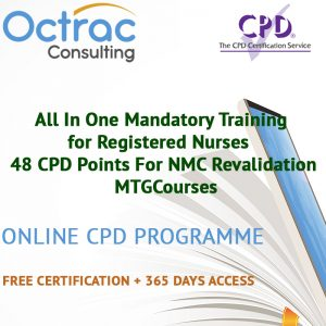 All In One Mandatory Training For Registered Nurses - 48 CPD Points For NMC Revalidation