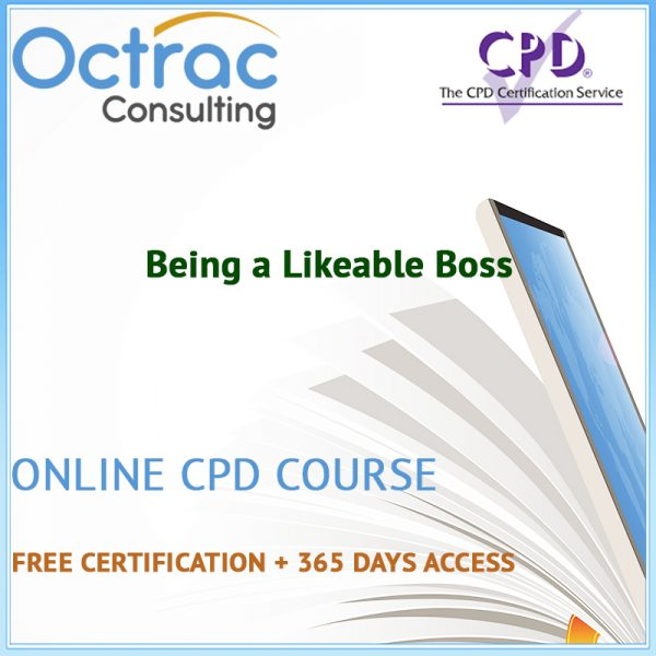 Being a Likeable Boss – Online CPD Course