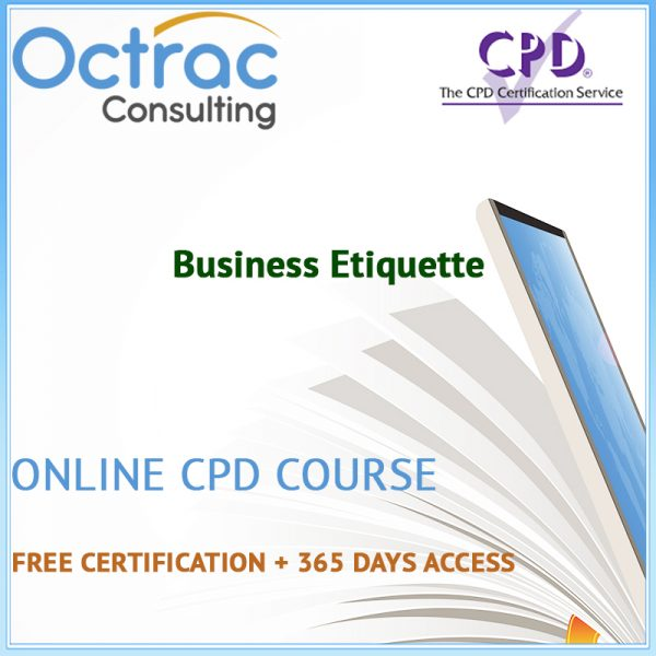 Business Etiquette – Online CPD Course