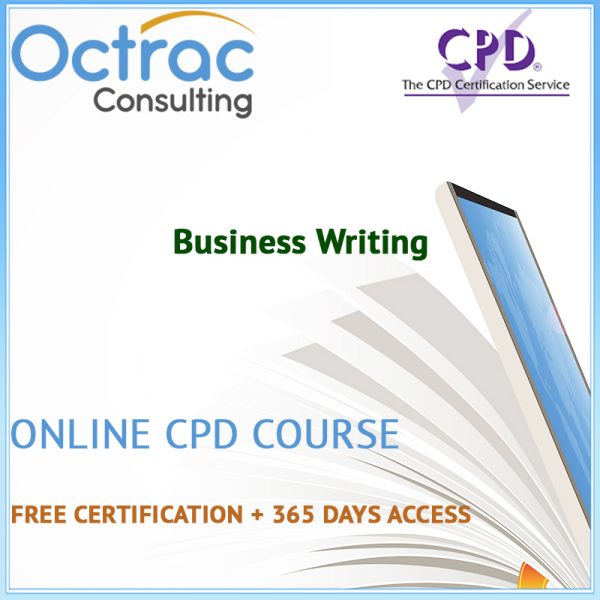 Business Writing – Online CPD Course