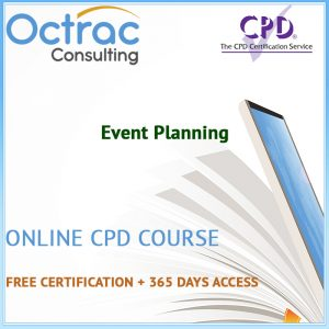 Event Planning – Online CPD Course