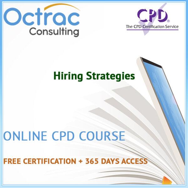 Hiring Strategies - Online CPD Course