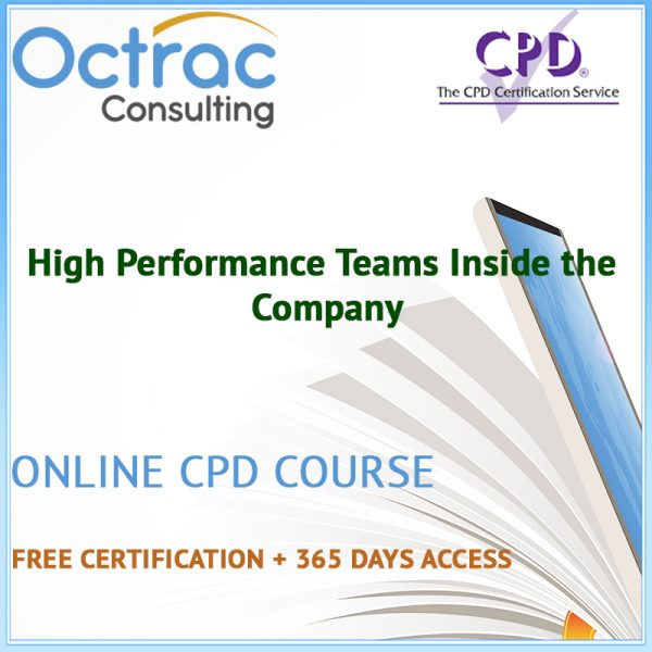 High Performance Teams Inside the Company - Online CPD Course