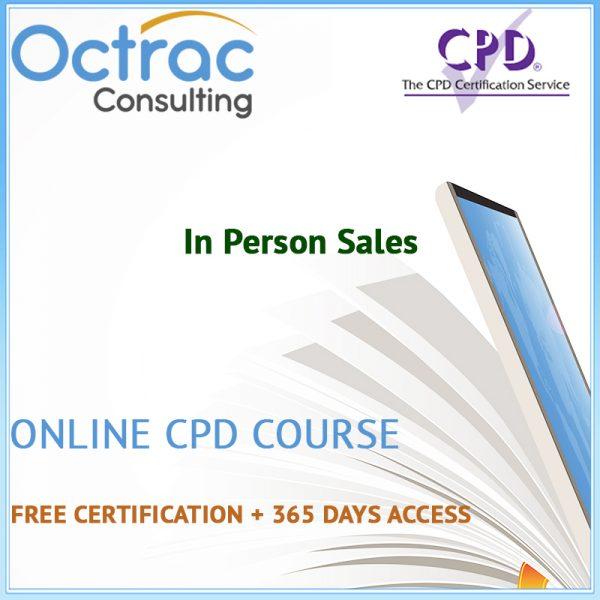 In Person Sales – Online CPD Course