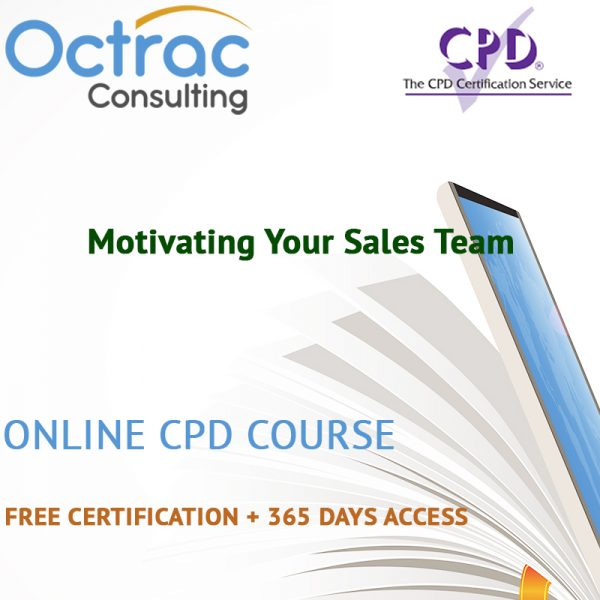 Motivating Your Sales Team – Online CPD Course