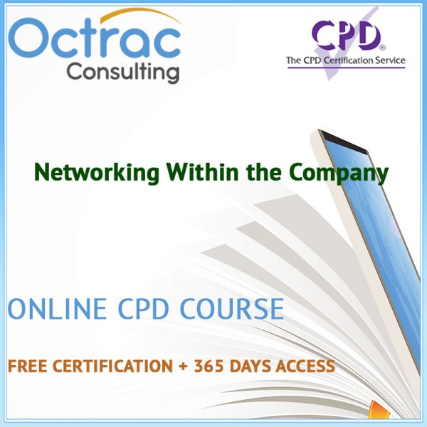 Networking Within the Company – Online CPD Course