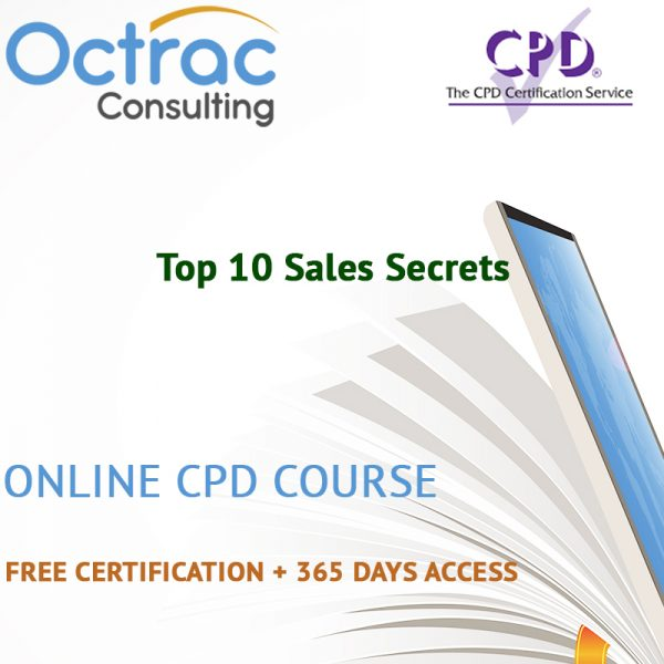 Top 10 Sales Secrets – Online CPD Course